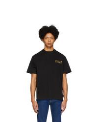 T-shirt girocollo nera di VERSACE JEANS COUTURE