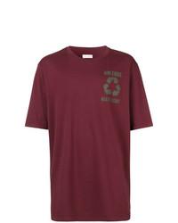 T-shirt girocollo stampata bordeaux di Faith Connexion