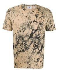 T-shirt girocollo stampata marrone chiaro di Rossignol