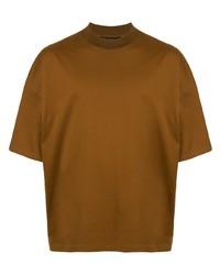 T-shirt girocollo terracotta di Caban