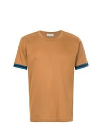 T-shirt girocollo terracotta di Cerruti 1881