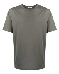 T-shirt girocollo verde oliva di Filippa K