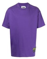 T-shirt girocollo viola di Izzue