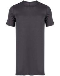 T-shirt girocollo viola di Rick Owens