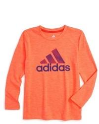 T-shirt manica lunga arancione