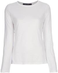 T-shirt manica lunga bianca