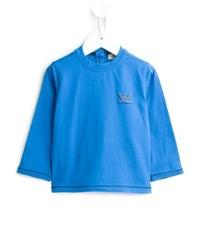 T-shirt manica lunga blu di Armani Junior