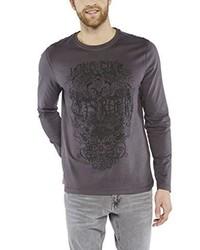 T-shirt manica lunga grigio scuro di Colorado Denim