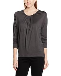 T-shirt manica lunga grigio scuro di René Lezard