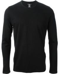 T-shirt manica lunga nera