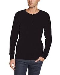 T-shirt manica lunga nera di Levi's