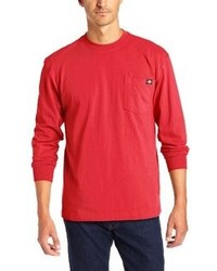 T-shirt manica lunga rossa