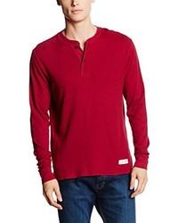 T-shirt manica lunga rossa di Marc O'Polo
