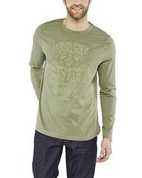 T-shirt manica lunga verde oliva di Colorado Denim