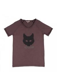 T-shirt marrone