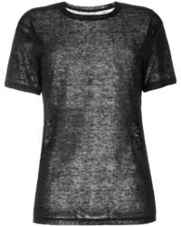 T-shirt nera di Isabel Marant