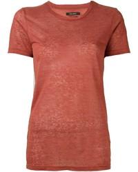 T-shirt rossa di Isabel Marant