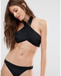 Top bikini nero di Noisy May