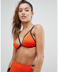 Top bikini rosso di Noisy May