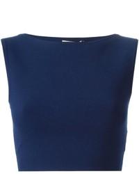 Top corto blu scuro di Michael Kors