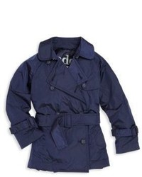 Trench blu scuro