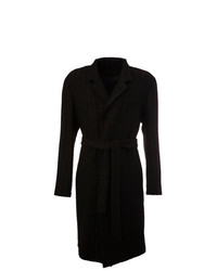 Trench nero di Ann Demeulemeester