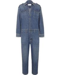 Tuta di jeans blu di Current/Elliott