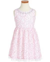 Vestito a fiori rosa