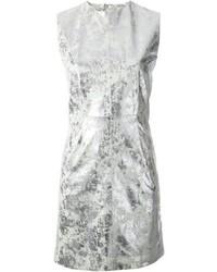 Vestito a trapezio argento