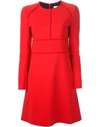 best sneakers c7620 c0996 Vestiti a trapezio di lana rossi da donna | Moda donna ...