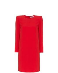 Vestito a trapezio rosso di Givenchy