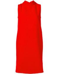 Vestito a trapezio rosso di Marni