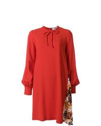 Vestito a trapezio rosso di MSGM