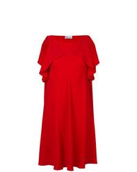 Vestito a trapezio rosso di RED Valentino