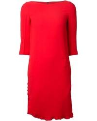 Vestito a trapezio rosso di Sonia Rykiel