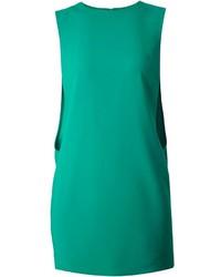 Vestito a trapezio verde