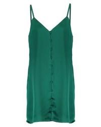 Vestito a trapezio verde di Fashion Union