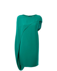 Vestito a trapezio verde di Gianluca Capannolo