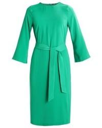 Vestito a trapezio verde di KIOMI