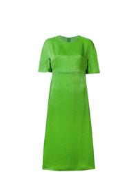 Vestito a trapezio verde di Sies Marjan