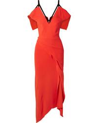 Vestito a tubino arancione di Roland Mouret