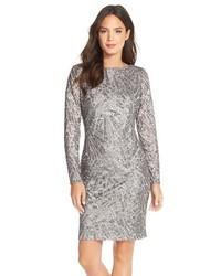 sale retailer 5d476 5978f Come indossare e abbinare un vestito a tubino argento in ...