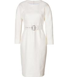 Vestito a tubino bianco