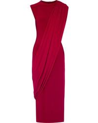 Vestito a tubino rosso di Norma Kamali