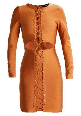 Vestito a tubino terracotta di Missguided