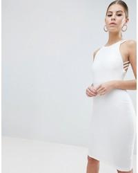 Vestito aderente bianco di Vesper