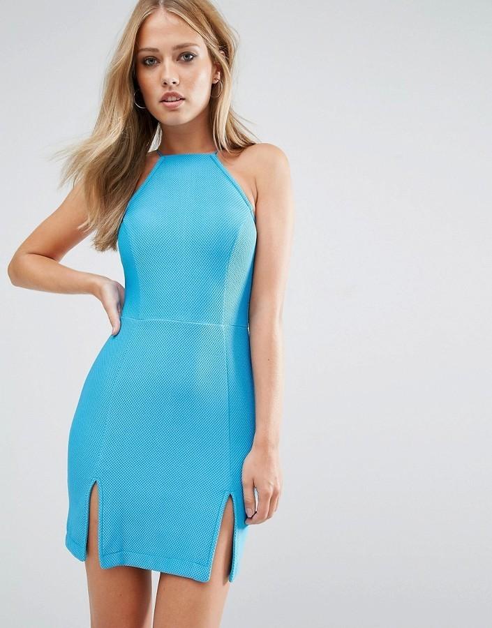 on sale 8abf7 d9b5b €34, Vestito azzurro di Rare