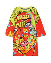 Vestito casual stampato multicolore di Moschino