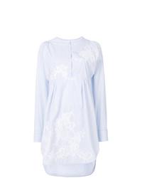 Vestito chemisier a righe verticali bianco di Ermanno Scervino