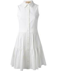 Vestito chemisier bianco di Michael Kors